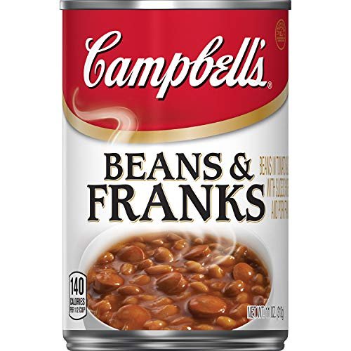 Campbell's Beans & Franks, 11 oz. (Pack of 12)