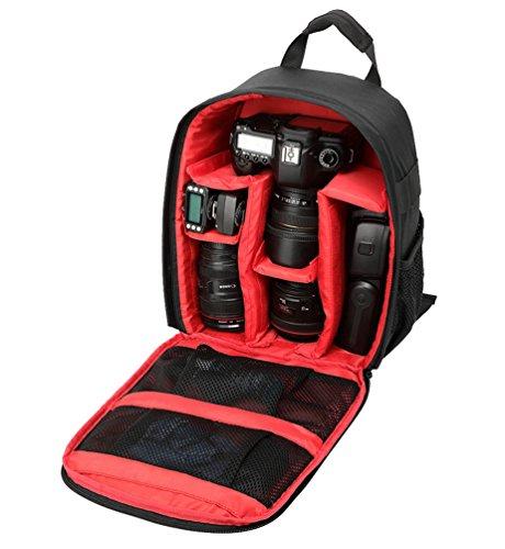 Housse Sac en pour Rouge à Haute Qualité Appareils Nylon Photo nylon pour Dos Caméra pour Appareil WanYang Réflex en Dos à Sac 4wfgg