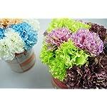 Lily-Garden-12-Stems-Artificial-Carnation-Flower-Silk-Bouquet-Peach