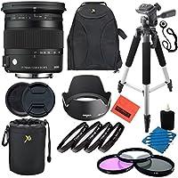 Sigma Contemporary 17-70MM f2.8-4 DC Macro OS HSM Lens - Nikon Mount Professional Kit