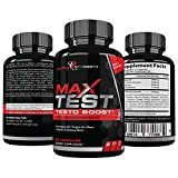 Alpha Strength Labs Testosterone Booster for Men – Boost Stamina, Endurance & Strength & Burn Fat – Fortifies Metabolism – Promotes Healthy Weight Loss - 60 Caplets