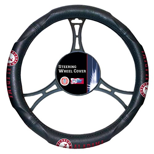Officially Licensed NCAA Alabama Crimson Tide Steering Wheel Cover