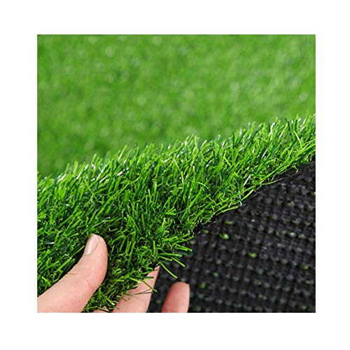 ALGWXQ Artificial Turf Automatic Water Seepage Environmental Protection Roof Kindergarten The Mall Fake Grass, 3.5CM…