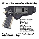 TACwolf 1911 IWB Gun Holster Magazine Fits Most