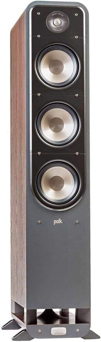 Polk Audio Signature Series S60 American Hi-Fi Home Theater Large Tower Speaker Classic Brown Walnut