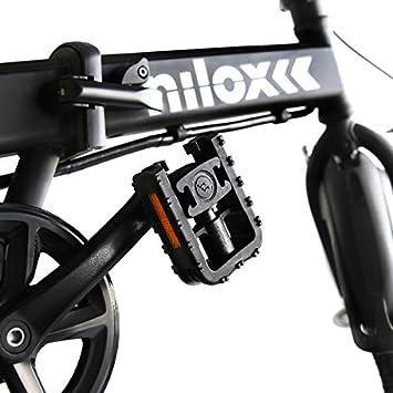 Nilox E Bike 36 V 16 P-X2 Bicicleta Eléctrica, Unisex Adulto, Negro, 58 x 170 x 98: Amazon.es: Deportes y aire libre