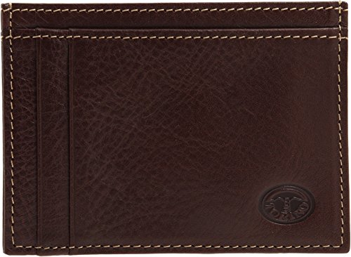 Coin Torino Mahogany Case ID Case Leather Co Weekender Men's or Card qxBr0FqP