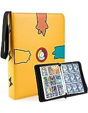 Notitieboek met 400 kaarten, boekhouder, kaarthouder, compatibel met Pokemon Trading Card/Yugioh Cards, album kaart, notitieboek inclusief