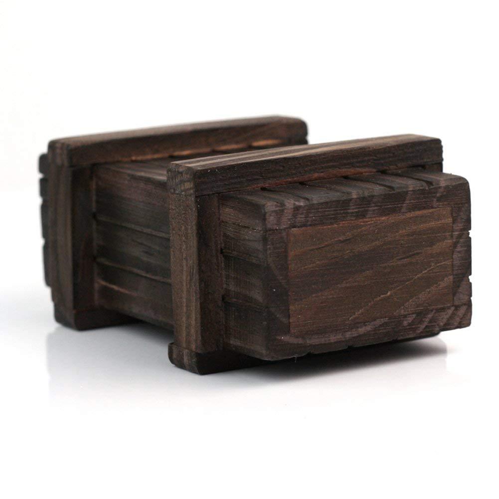 Li-ly Coffret Puzzle Premium Qualit/é en Bois Secret Mini Compartiment en Bois Cadeau Intelligence Casse-t/ête