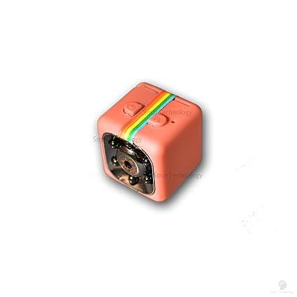 Sq11 Cámara Sport Full HD Mini DV Spy Micro Camera espía oculta Color Rojo