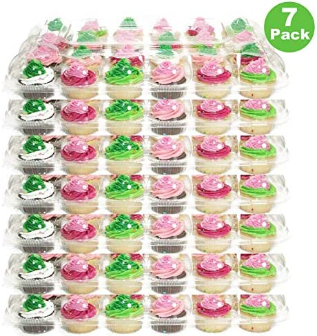 Cake Storage Cupcake Carrier 24 Party Birthday Boxes Muffin Cup Cakes Baking