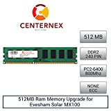 512MB RAM Memory for Evesham Solar MX100 (DDR26400 NonECC) Desktop Memory Upgrade by US Seller