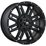 Ruffino Traxx Wheels (Painted/Matte Black), 18*9, 5/139.7, ET 20mm