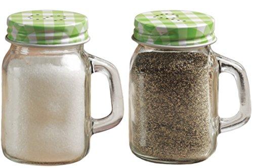 green mason jars with handles - 5
