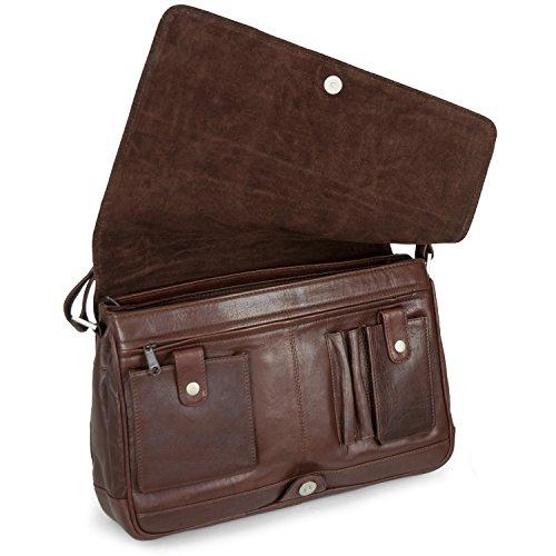 en taille M couleurs 5584 à Marron main véritable cuir à femme bandoulière sac Branco différentes Sac 4IqUz