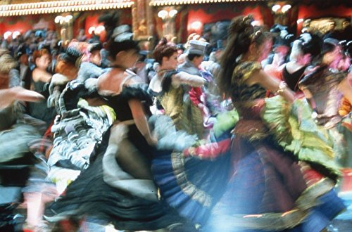 35mm Color Slide Film Celebrity Photograph Can-Can Dancers in Moulin Rouge~826 (Rouge Dancers Moulin)