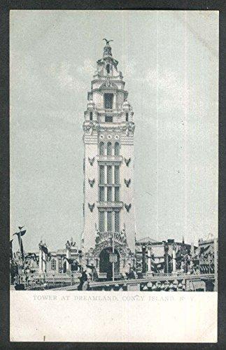 Coney Island Dreamland (Tower at Dreamland Coney Island New York NY undivided back postcard 1900s)