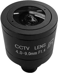 Btuty 1 MP HD 4-9mm M12 Lente de Foco Manual MTV Zoom Para