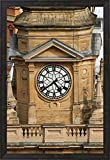 Clock Tower, City Hall, Cape Town, South Africa. by David Wall / Danita Delimont Framed Art Print Wall Picture, Espresso Brown Frame, 21 x 30 inches