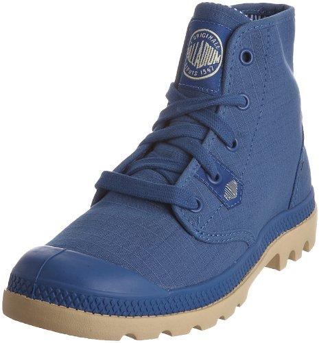 Palladium - Zapatillas de deporte de lona para mujer Azul