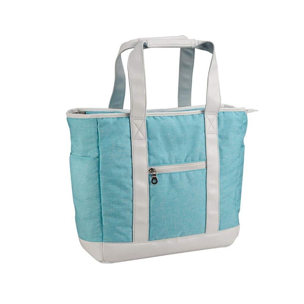 QCRLB ゴルフウェアバッグ、ハンドバッグ、大容量、グリーン、36×19×36cm