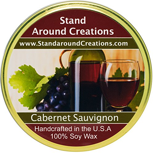 Premium 100% Soy Tureen Candle -11 oz.- Cabernet Sauvignon- A sweet aroma of wild grapes w/sweet sugary notes. A wonderful aroma of red sweet cabernet wine.