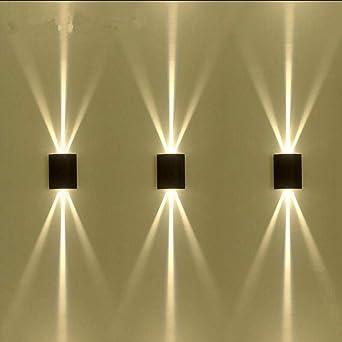 Lámpara de pared Interior Moderna Apliques de Pared Lámpara de pared LED para exteriores a prueba