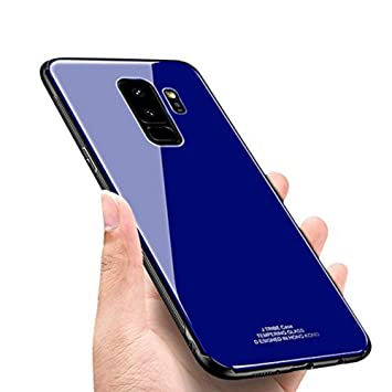 SainCat Funda Galaxy S9 Plus, Moda Color Puro Carcasa TPU ...