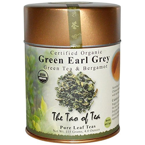 The Tao of Tea Organic Green Tea Bergamot Green Earl Grey 4 0 oz 115 g