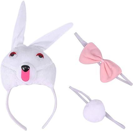 DONKEY Ears /& Tail Set Headband Fancy Dress Costume Accessory ONE SIZE FITS ALL