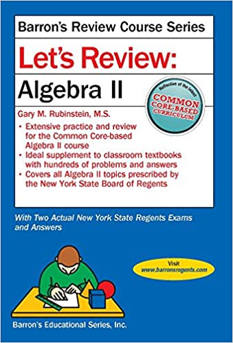 Lets review algebra ii lets review series gary m rubenstein lets review algebra ii lets review series csm edition fandeluxe Images