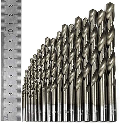 Basic Cellphone Cases CZMY 51pcs Engineering Hss Drill Bit Set Hss 1-6mm in 0.1mm Increments Drill Bits