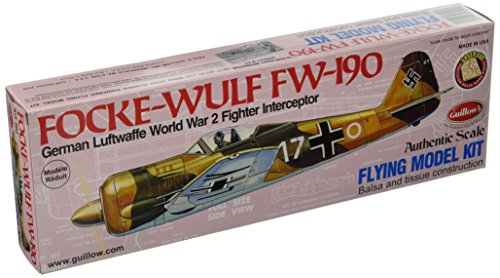 FW-190 Model Kit (Focke Wulf Airplane)