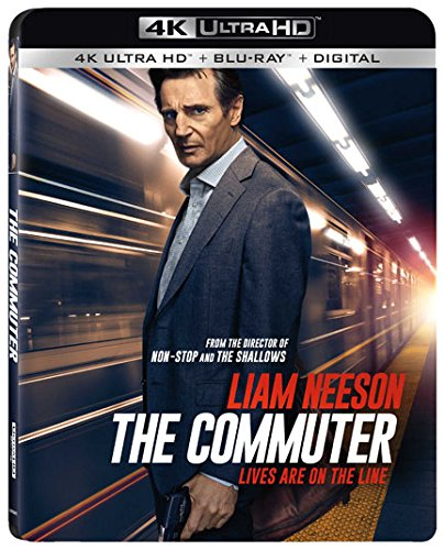 4K Blu-ray : The Commuter (With Blu-Ray, 4K Mastering, AC-3, 2 Pack, Widescreen)
