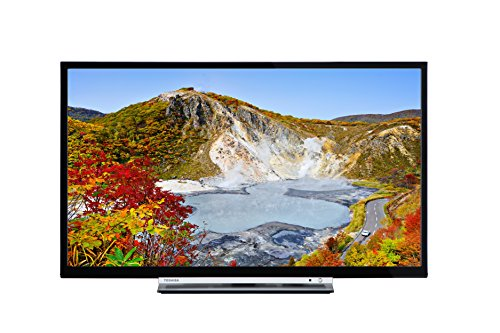 Toshiba 24D3753DB 24-Inch HD Ready DVD Smart TV with Freeview Play - Black...