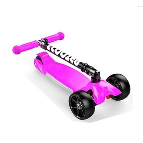 Portátil Scooter para niños: Patinete de Tres Ruedas para ...