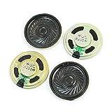 Electronic Toy Parts Metal Internal Magnet Speaker 0.5W 8Ohm 40mm 4Pcs