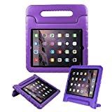 BFTOP Compatible Kids Case for iPad 2 3 4, Lightweight Shockproof Handle Friendly Convertible Stand Cover Case for iPad 2, iPad 3rd Generation, iPad 4th Generation - Purple