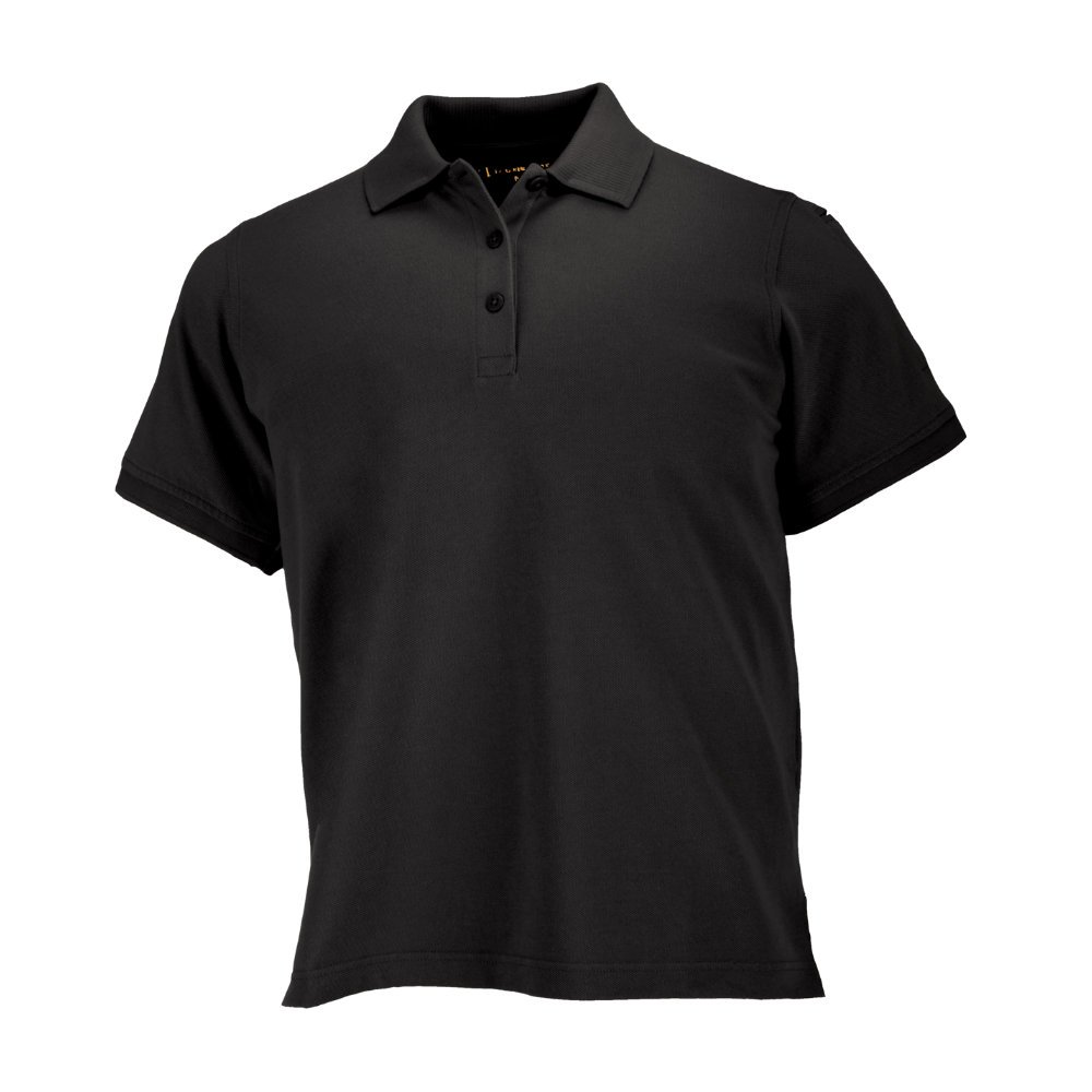 5.11 Women's Performance Polo Short Sleeve Tactical Shirt, Style 61166, Black, M