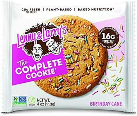 Fine Lenny Larrys Complete Cookie Birthday Cake 12 Cookies Protein Personalised Birthday Cards Cominlily Jamesorg