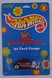 chuck e cheese toys - Chuck E Cheese 1998 Hot Wheels Carded Die Cast `32 Ford Coupe Special Limited Edition