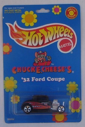 chuck-e-cheese-1998-hot-wheels-carded-die-cast-32-ford-coupe-special-limited-edition