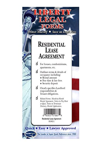 Residential Lease Agreement - USA - Do-it-yourself Legal Forms by Permacharts
