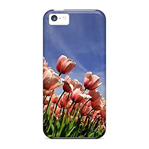 RoccoAnderson Cases Covers For Iphone 5c - Retailer Packaging Tulips Protective Cases