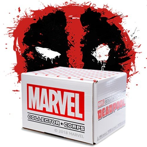 Funko Marvel Collector Corps Subscription Box-Deadpool Theme, July, Multicolor