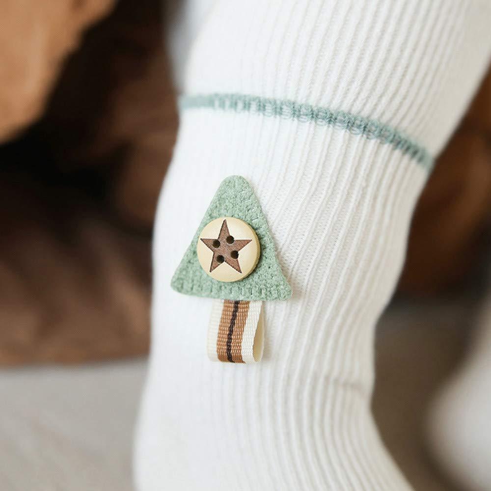 Lurryly❤3 Pairs Baby Socks Newborn Non Skid Slip Socks for Girls Boys Kids Toddlers 1-3T