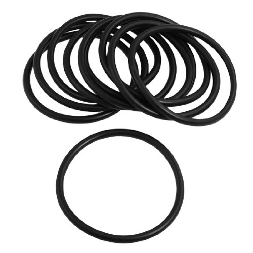 Automobile 90mm x 5.7mm O Rings Hole Sealing Gasket Washer 10 Pcs