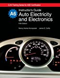 Auto Electricity and Electronics Instructor's Guide, James E. Duffy, 1590709136