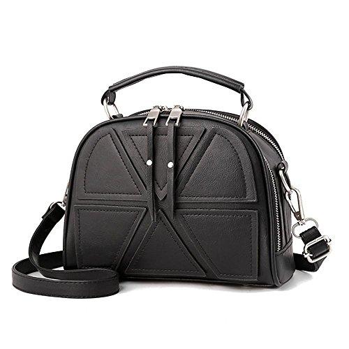 Aoligei Cross pack diagonale d'épaule unique de manière simple de le sac femme paquet princesse Diana B
