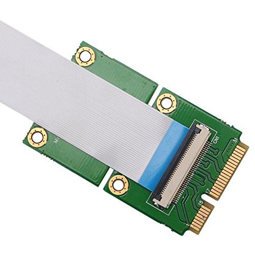 RingBuu Express PCI-E to PCI-E Mini 1X Extension Cord Adapter Card with USB Riser Card by RingBuu (Image #3)